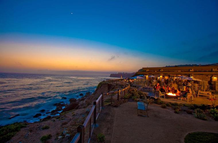 碧山旅行-美国旅游-南加州海岸浪漫餐厅
