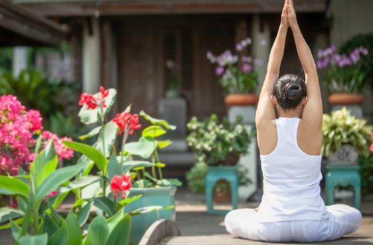 碧山旅行-河畔日出瑜伽,洗涤身心