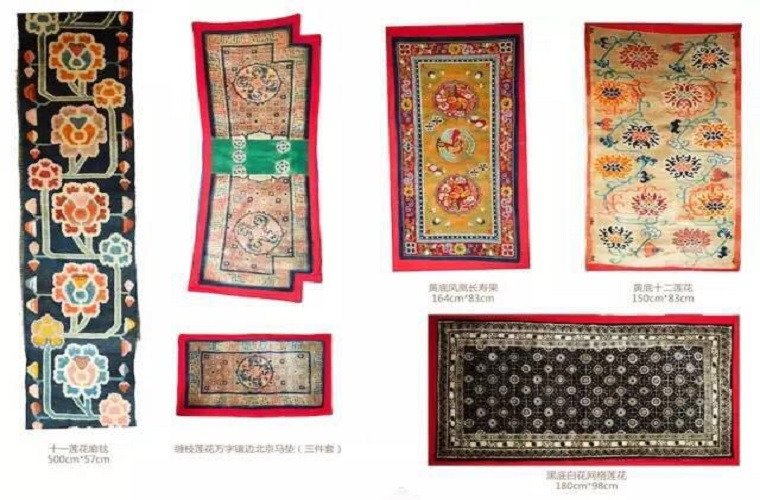 碧山旅行-藏区旅游-精美的藏汉古代纺织品