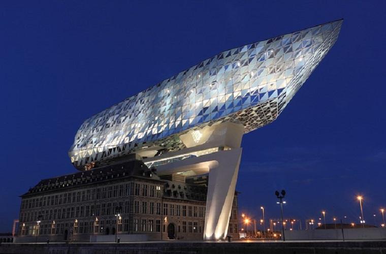 碧山旅行-比利时旅游-感受别致的安德卫普海港风情