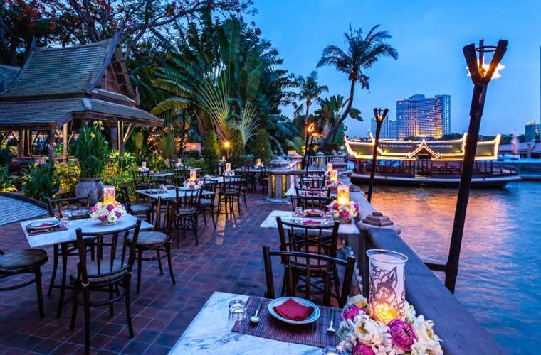碧山旅行-泰国旅游-河畔泰式美食体验