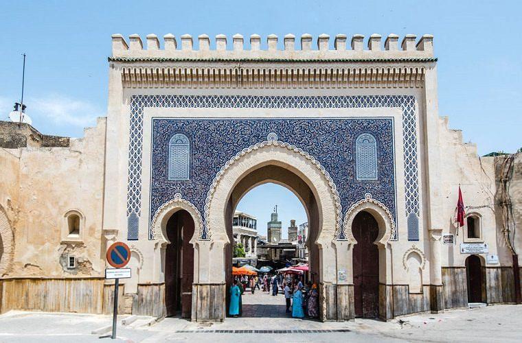 碧山旅行-摩洛哥旅游-由此进入菲斯古城