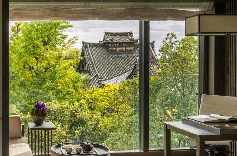 碧山旅行-日本旅游-眺望妙法寺盛景