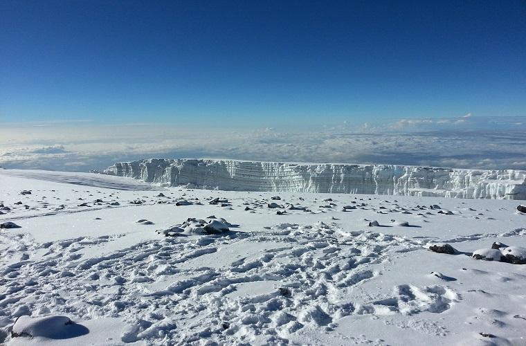 碧山旅行-赤道附近的冰川带