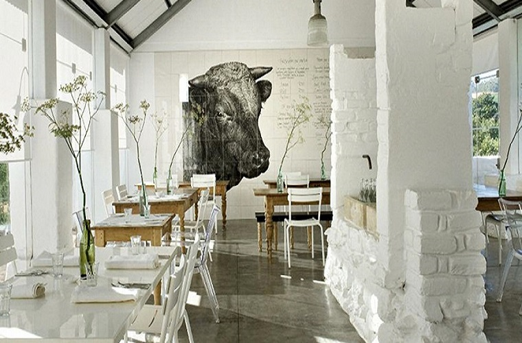 碧山旅行-精简雅致的餐厅