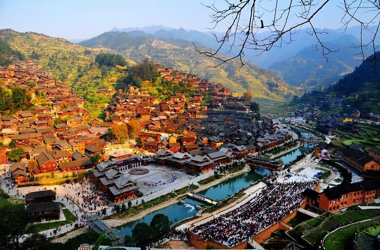 碧山旅游-贵州旅游-古老苗寨