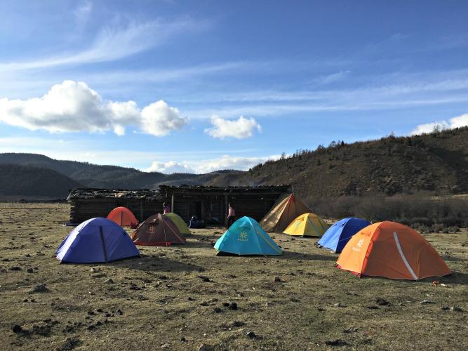 碧山旅行-藏区旅游-阿布吉露营