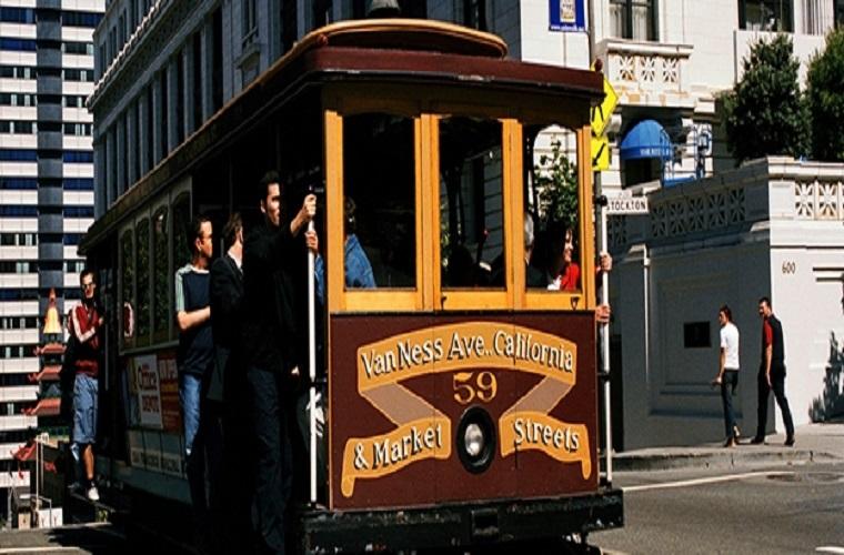 碧山旅行-城市电车,文艺复古