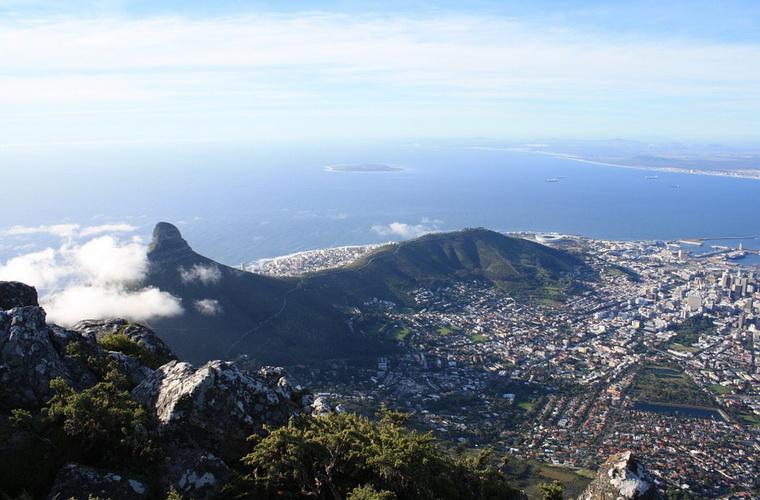 碧山旅行-非洲旅游-在南非最美城市开普敦,游览桌山、好望角