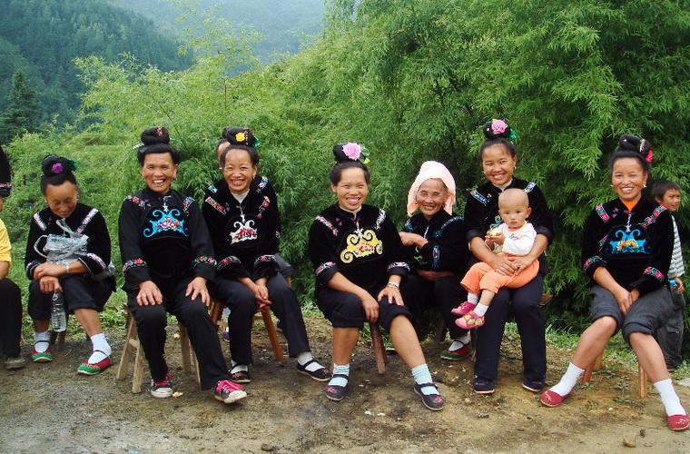 碧山旅行-少数民族的日常生活