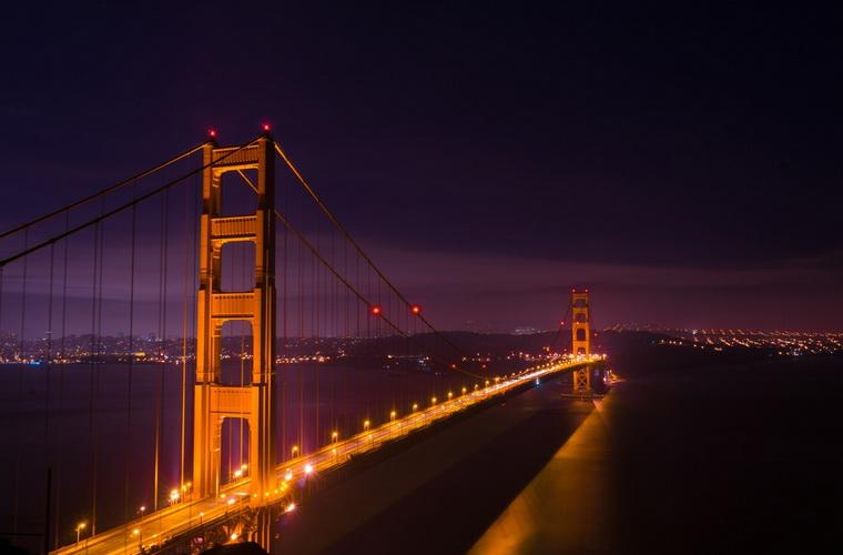 碧山旅行-美国旅游-世界闻名的金门大桥