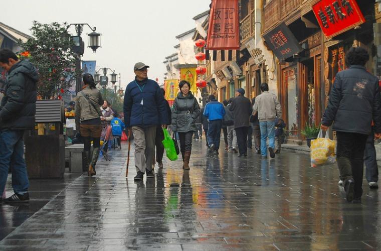 碧山旅行-杭州旅游-清河坊古街