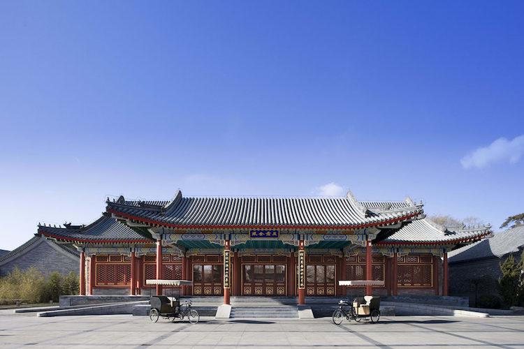 碧山旅行-北京颐和安缦酒店
