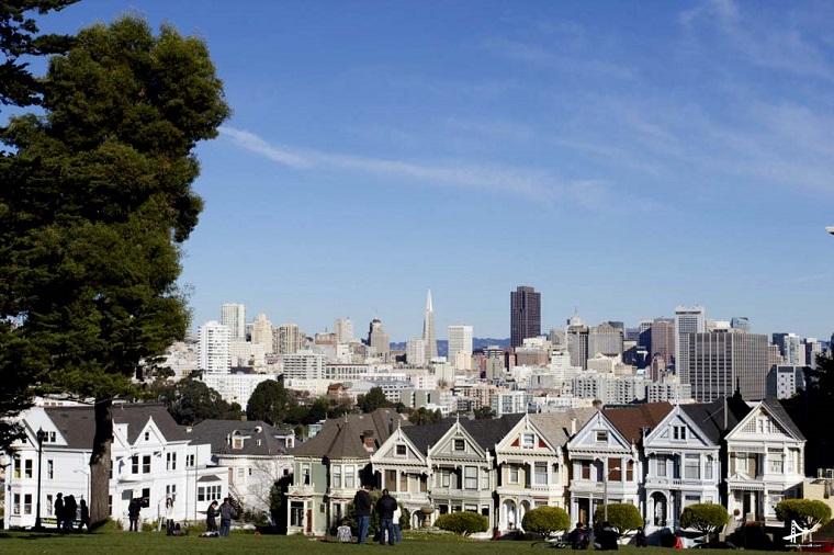 碧山旅行-美国旅游,旧金山城市